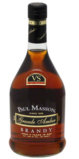 Paul Masson Brandy Grande Amber VS 750ml...